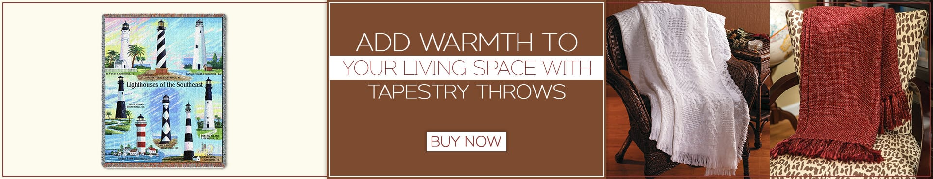 Add Warmth to Your Living Space with tapestry throws