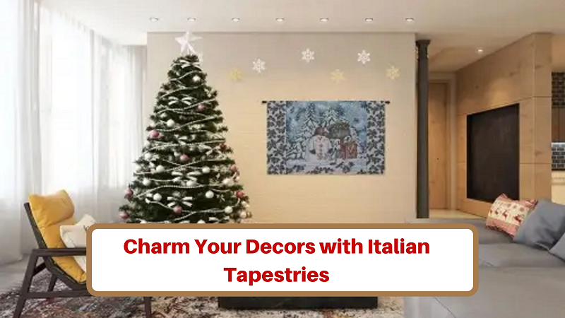 saveonwallart- Home decor with italian tapestries