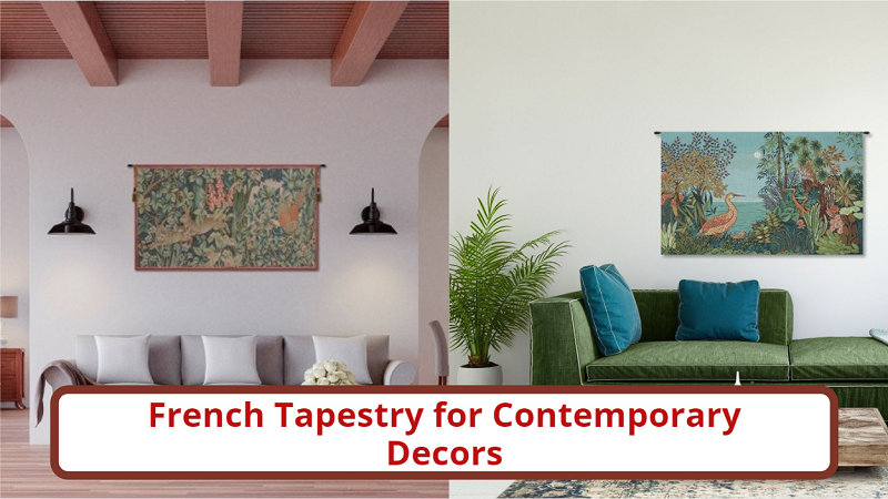 saveonwallart- French tapestry for contemporary decors