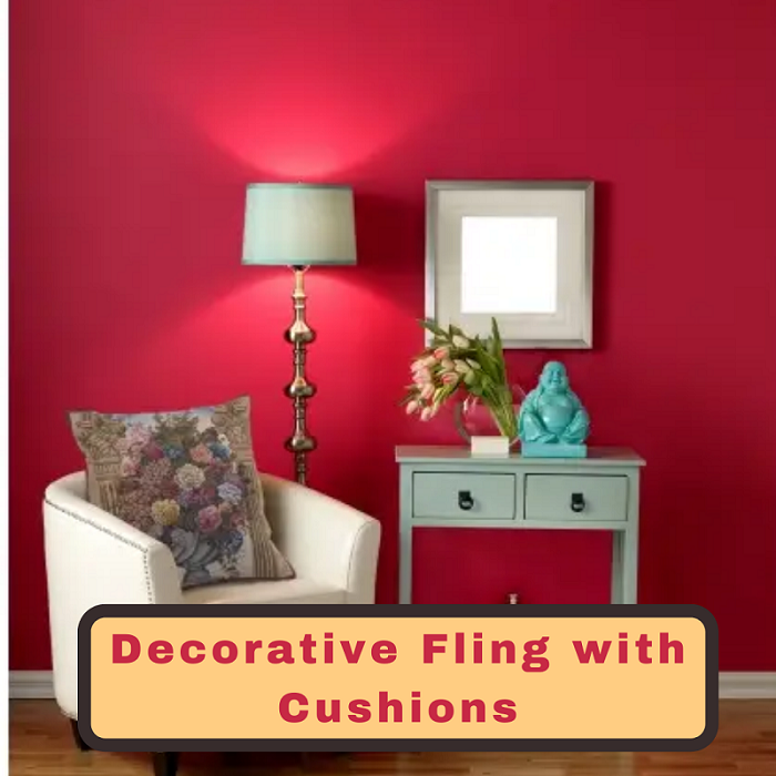 Saveonwallart- Decorative Fling with Cushions